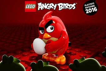 how to make lego angry birds step by step