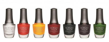 Morgan Taylor Chrome Nail Polish Collection