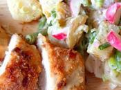 Food 4th,with Picnic Chicken, Potato Salad Killer Berry Tiramisu
