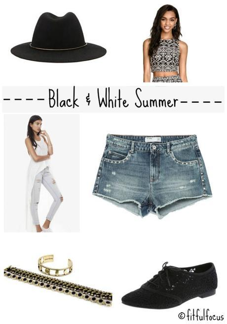 Black & White Summer via @FitfulFocus