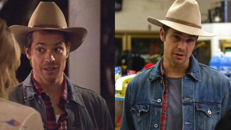 Justified – Raylan s Double Denim and Red Plaid Shirt - Paperblog e131dbf149d