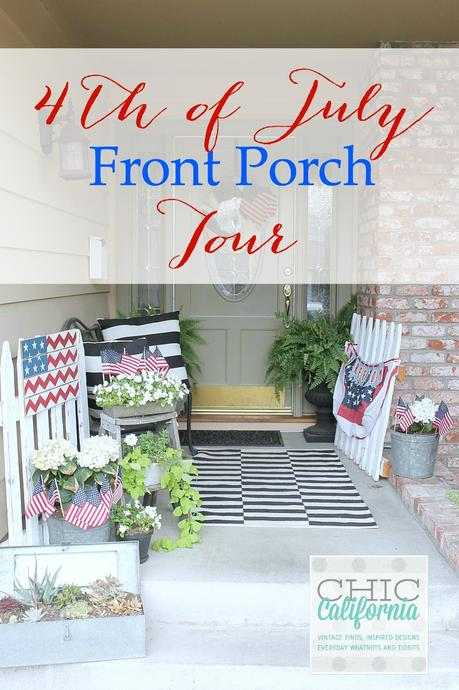 4th of July Front Porch Tour