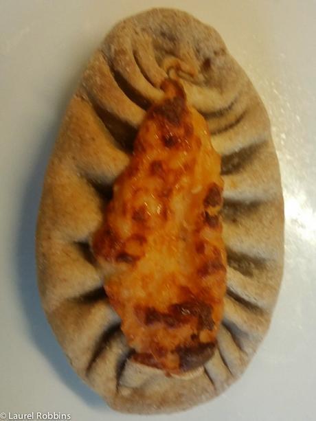 Finnish foods Karjalanpiirakka rice pie at Timitra Hostel in Lieksa
