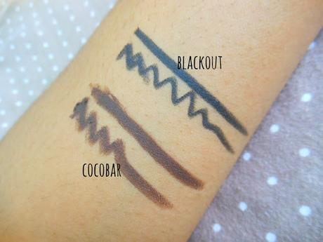 Colorbar I-Glide Eye Pencil Blackout, Cocobar : Review & Swatches