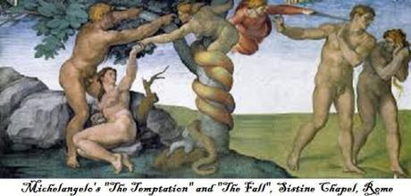 Michelangelo's Temptation and Fall