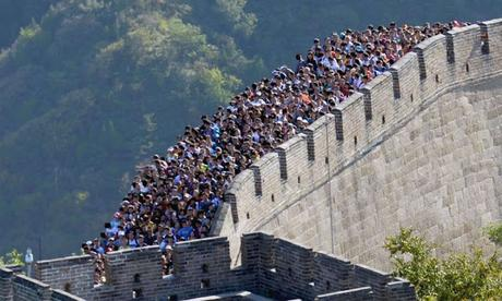 one third of Great wall of China disappears !!!