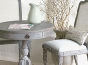 Stunning Driftwood Weathered Wood Finished Table Chairs