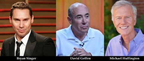Bryan Singer, David Geffen, Michael Huffington