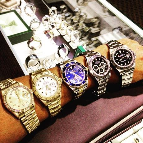 Pre owned Rolexes