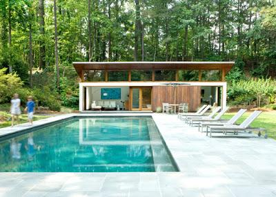 cool pool house