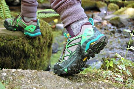 Merrell capra hiking shoes stepping stones