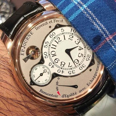 FP Journe Watch Young Man