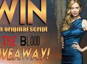 Kristin Bauer Gives Away True Blood Scripts Charity