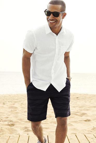 linen summer fashion men