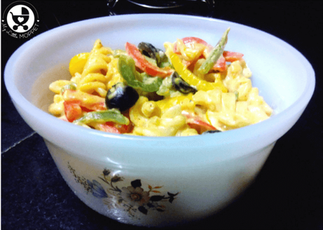Creamy Vegetable Pasta Recipe for Kids
