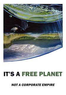 It's a Free Planet, not a Corporate Empire