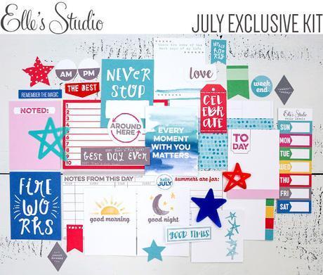 Elle's Studio Design Team : July Kit