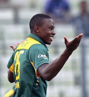 India beats Zimbabwe ~ Kagiso Rabada makes dream debut