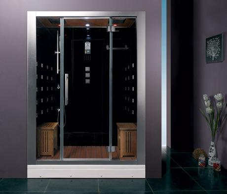 gratian premium steam shower water saving efficient conservation bathroom modern design