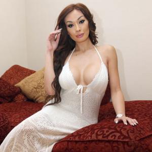 She-male Ava Sabrina London