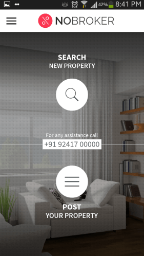 NoBroker App To Rent Houses Easily
