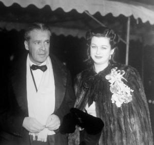 Walter Wanger and Joan Bennett