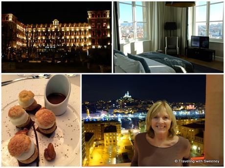 Intercontinental Hotel Dieu: Prestige Suite views, dessert of Profiteroles Hôtel Dieu at Les Fenêtres