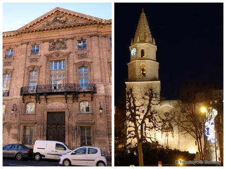 Left: Pavillon Daviel Right: Accoules Church
