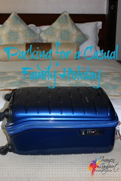 packing for a family holiday