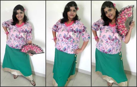 A fusion #OOTD with Limeroad.com
