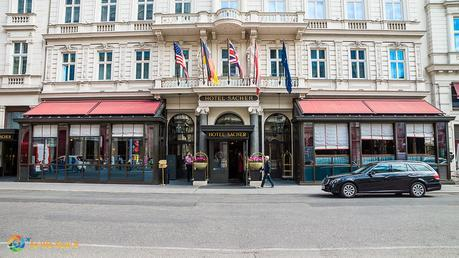 Hotel Sacher Vienna is one of the world's great luxury hotels and where Sacher Torte was created.
