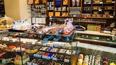 Pastries at Café Gerstner in Vienna