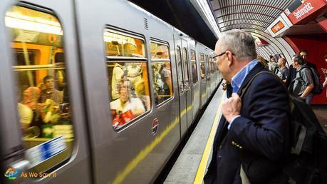 Easiest way to get around Vienna: Subway