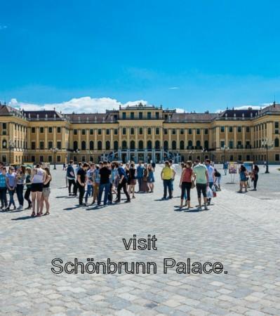 bucket list schonbrunn palace