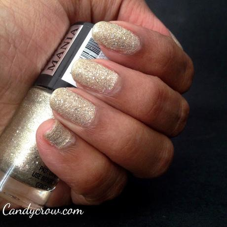 Maybelline color show - All that Glitters Review and swatches
