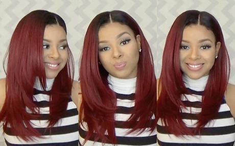 Outre Synthetic Lace Front Natural Yaki 18 Wig