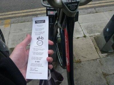 The code for the Boris Bikes