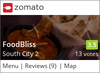 Click to add a blog post for FoodBliss on Zomato