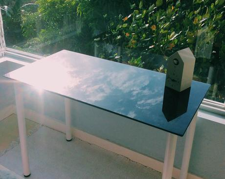 If the Glass Desk Fits | IKEA Glasholm Php3900