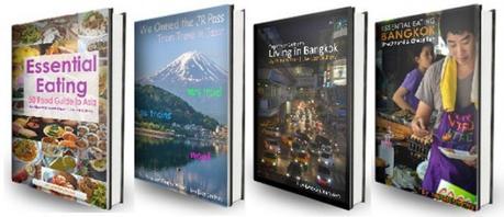 Free Travel eBooks, 8 Hells of Beppu by JR Pass, Japan Travel