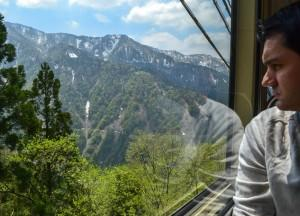 Cablecar Views, Alpine Route by JR Pass Japan Rail