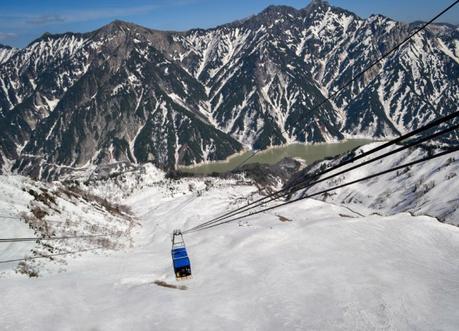 Cablecar / Ropeway, Alpine Route by JR Pass Japan Rail