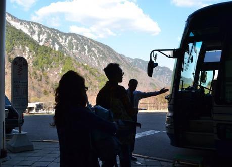Ogizawa Bus, Alpine Route by JR Pass Japan Rail