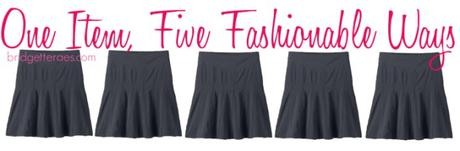 Throwback Thursday: Adding Color to Work Outfits, Skorts and Versatile Beach Bags