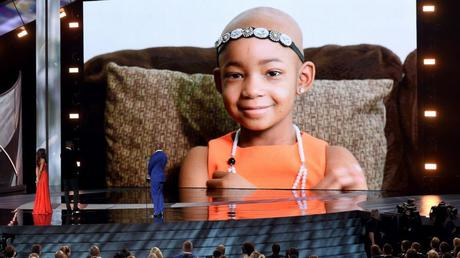 Leah Still at the ESPYs