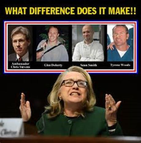 Hillary Clinton what difference does it make