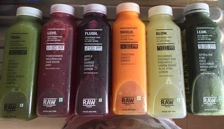 Being Healthy the Raw Pressery Way: First Impression of one day deep cleansing