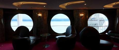 MSC Splendida - Inside looking out
