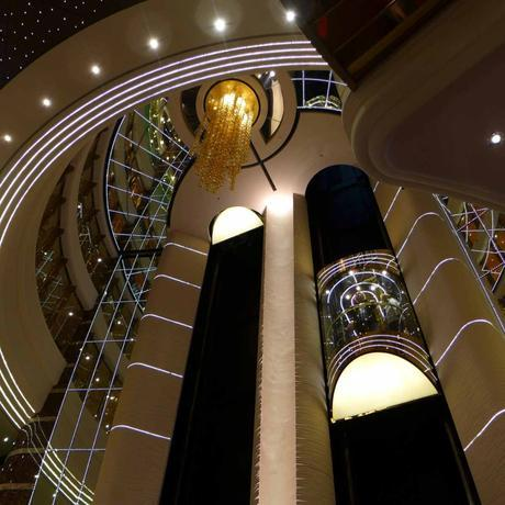 MSC Splendida - Elevators