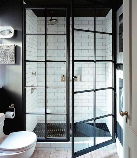 Jenny Wolf designed this shower for a client in New York. | japanesetrash.com